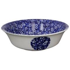 Oversized Minton Hawthorn Pattern Bowl