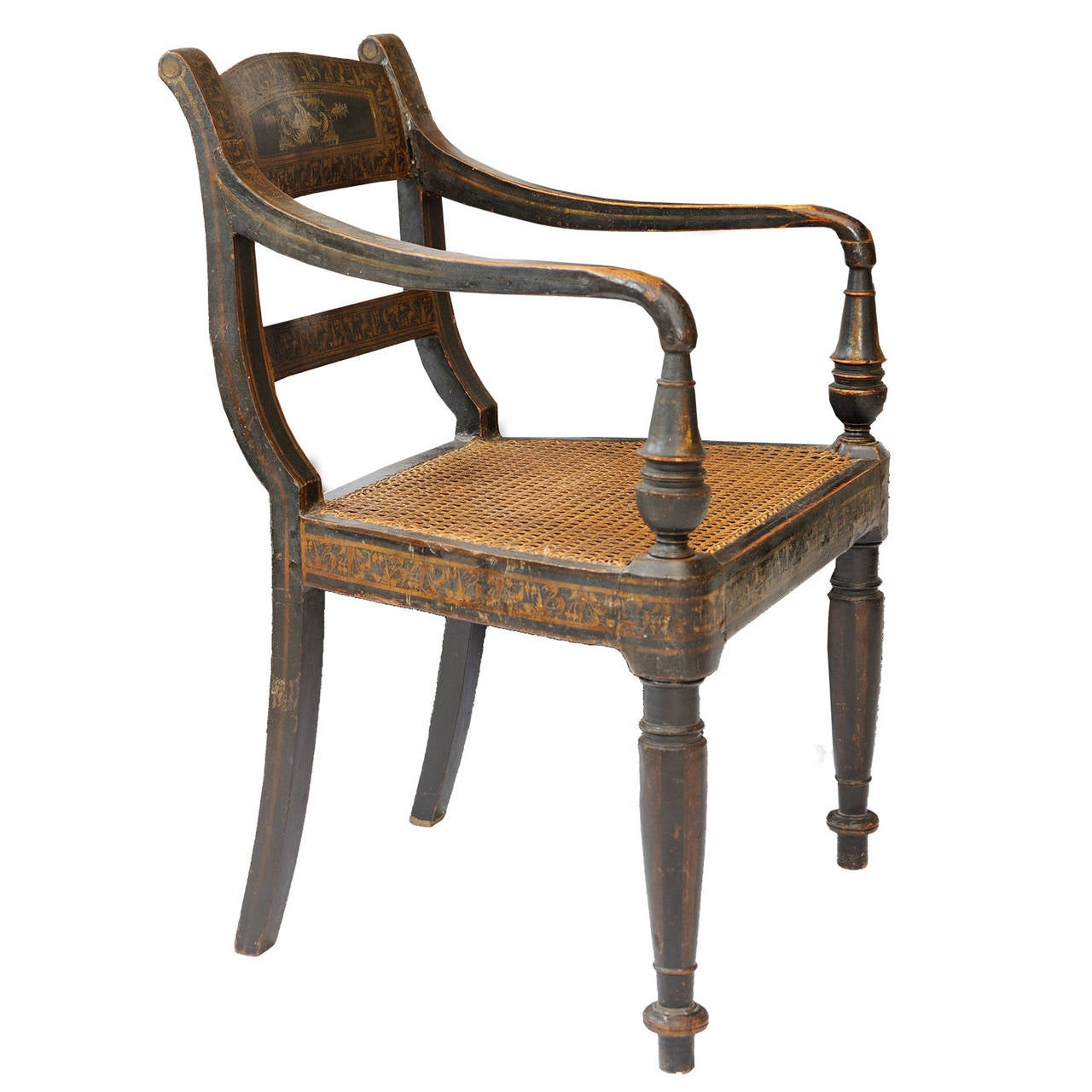Late Regency Chinese Export Open Armchair Circa 1830 For Sale At . Full resolution‎  portraiture, nominally Width 1280 Height 1280 pixels, portraiture with #926539.