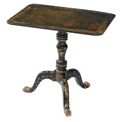 Early 19th Century, Regency Chinese Export Side Table, circa 1820