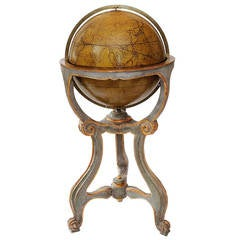 Italian Large Scale Mid-18th Century, Library Globe Stand, circa 1760
