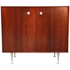 George Nelson for Herman Miller 'Thin Edge' Rosewood Cabinet