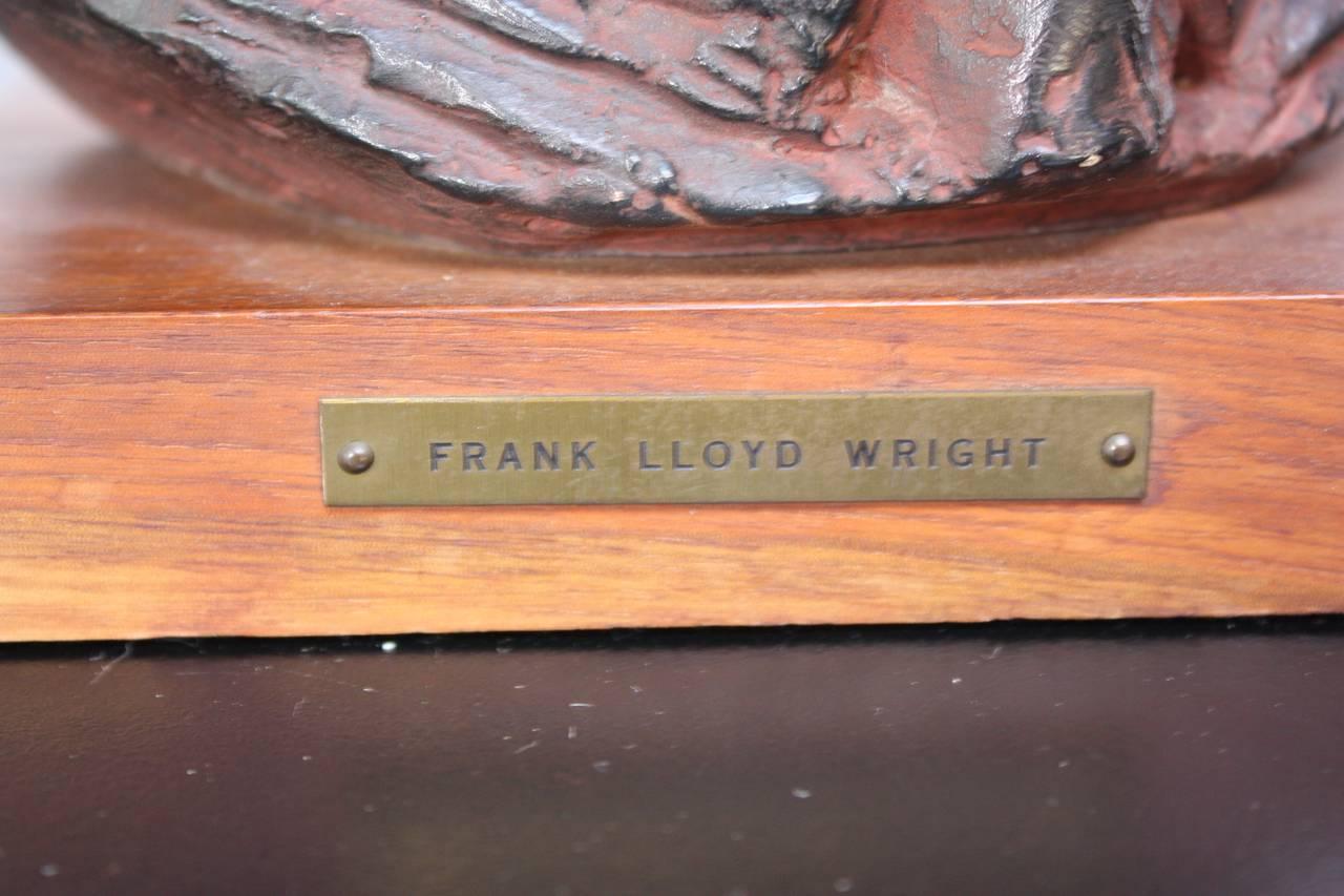 Joseph Konzal Bust Of Frank Lloyd Wright At 1stdibs