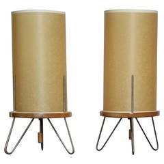 Pair of Heifetz Table Lamps