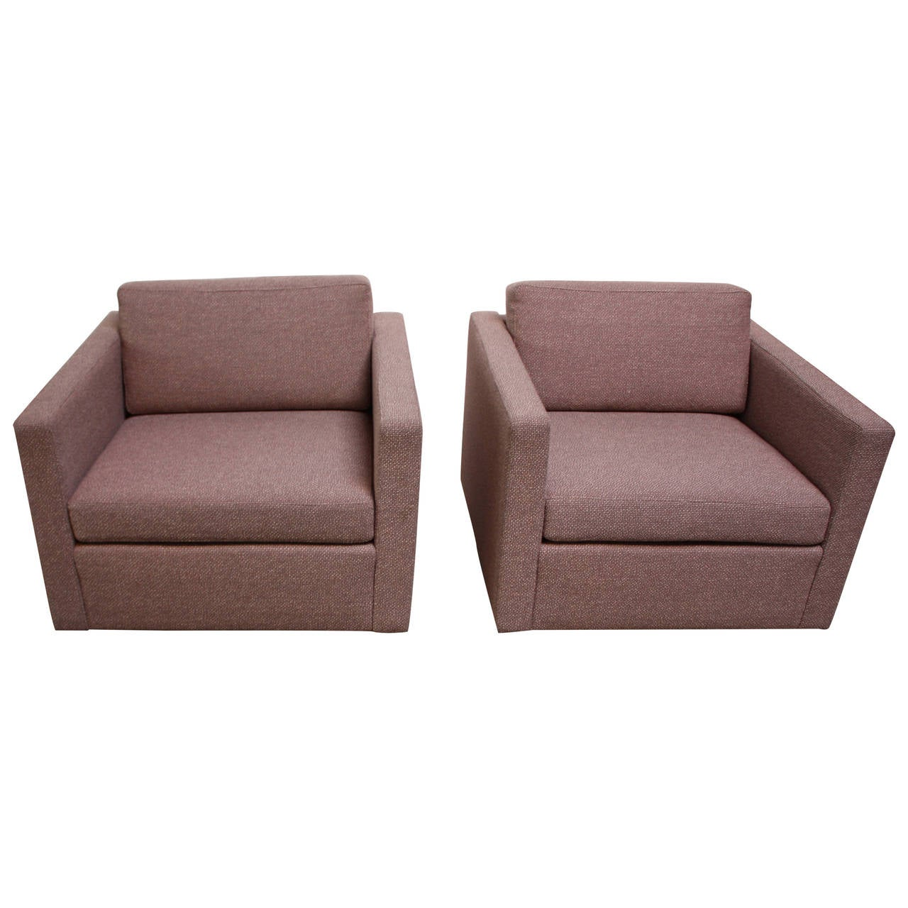 Pair of jack cartwright cube chairs for sale at 1stdibs for Furniture jack