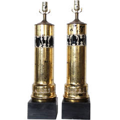 Pair of Piero Fornasetti Table Lamps