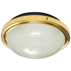Large Sergio Mazza Wall or Ceiling Light for Artemide c. 1960s