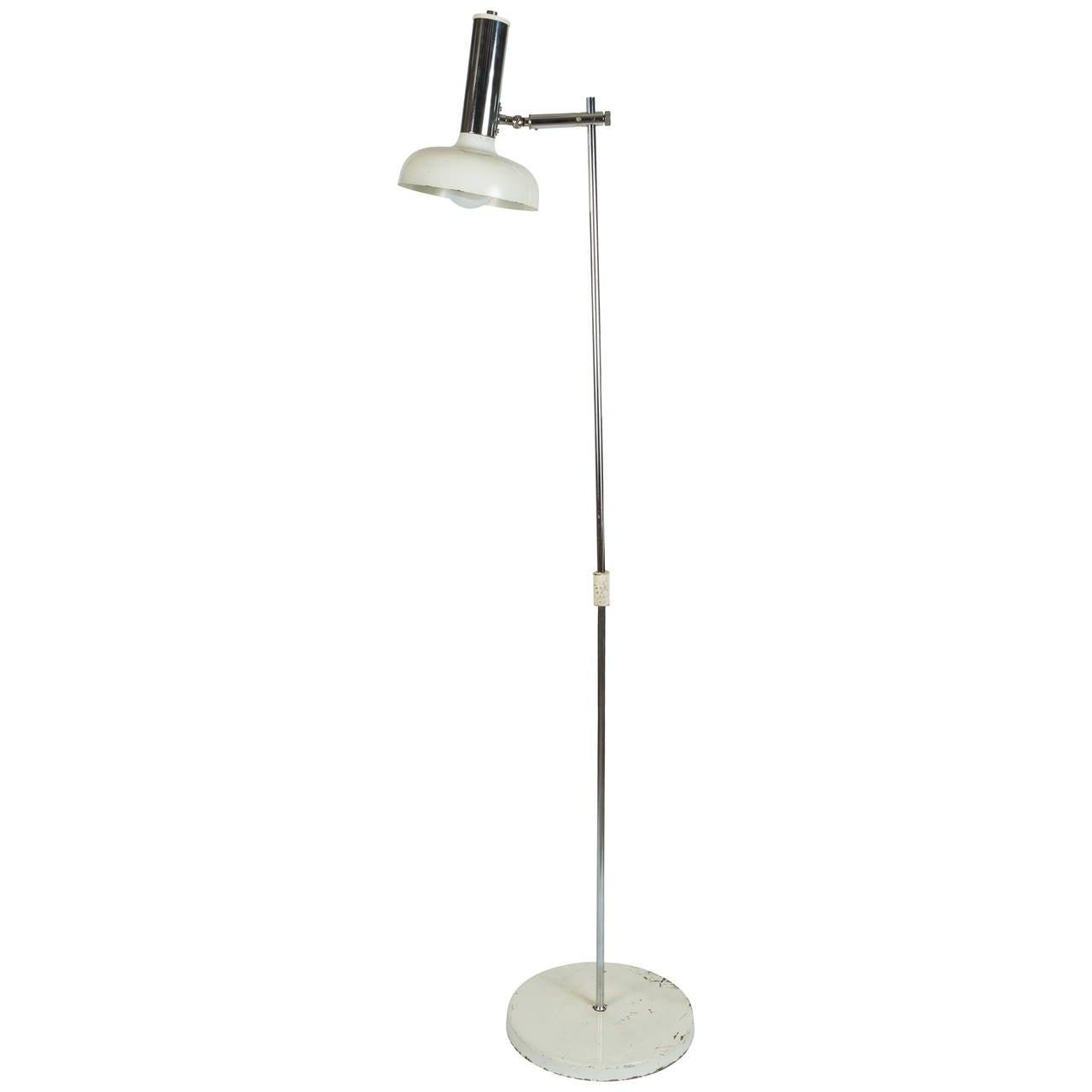 1960s Italian Floor Lamp in the Style of Gino Sarfatti