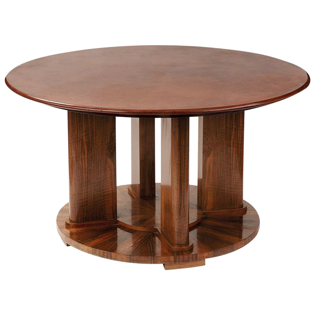 Katsu Hamanaka And Jules Leleu Art Deco Coffee Table Circa 1934 At 1stdibs