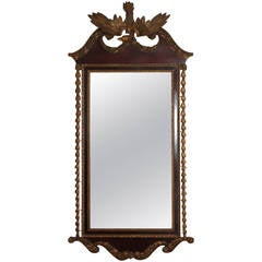 Large 19th Century American Empire Mirror