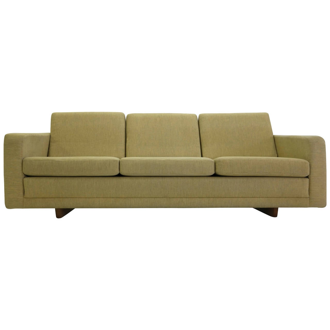 b rge mogensen sofa model 205 at 1stdibs. Black Bedroom Furniture Sets. Home Design Ideas