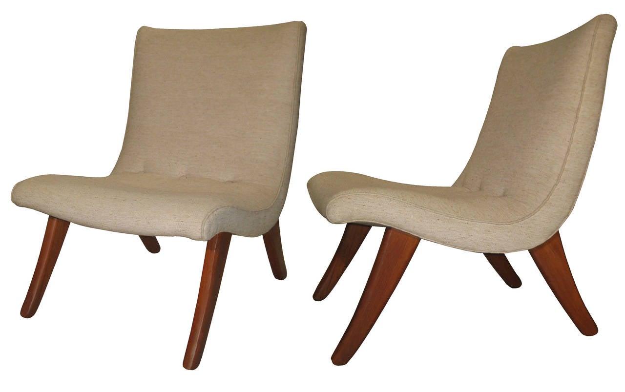 Pair Of Domus San Miguelito Chairs By Michael Van Beuren Circa  # Muebles Van Beuren
