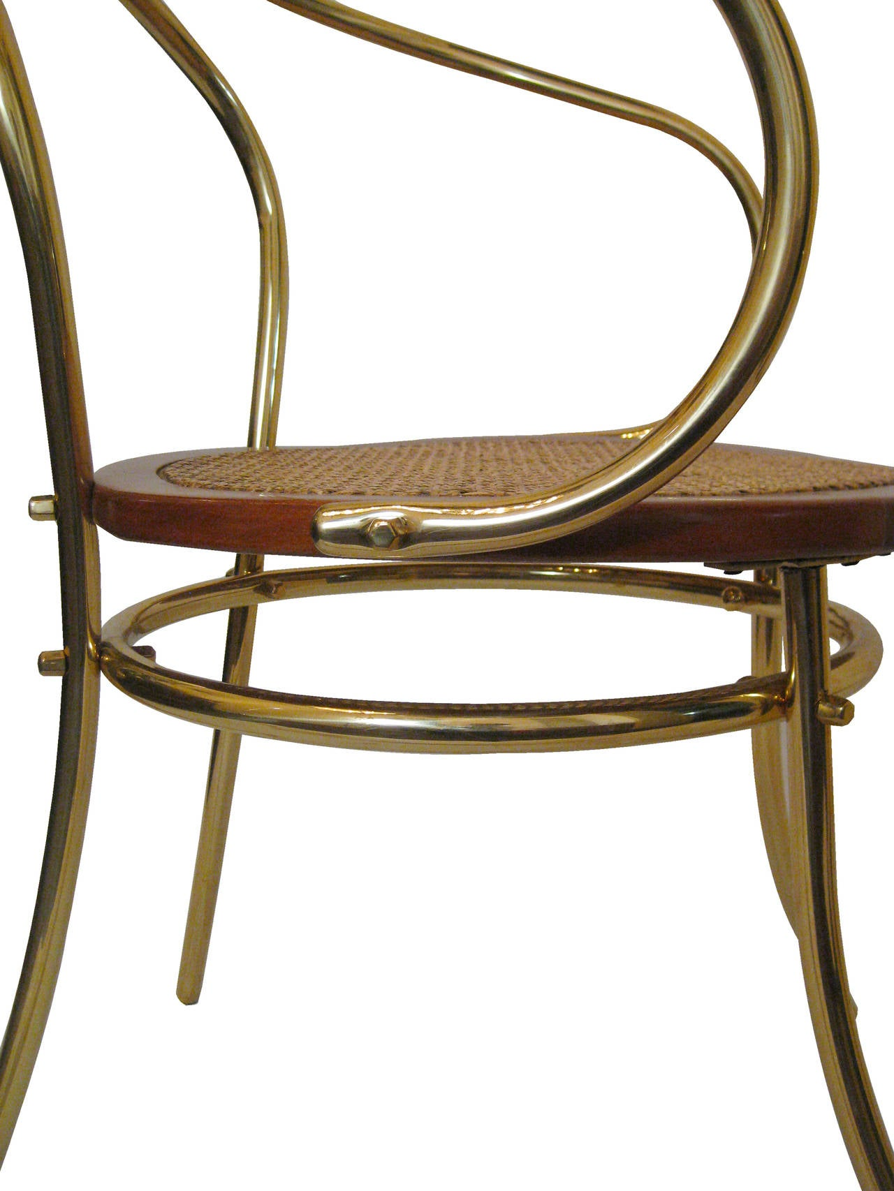Set Of Six Chairs Inspired By Thonet 209 Circa 1970 At