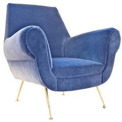 Italian Chair in the Manner of Gigi Radice