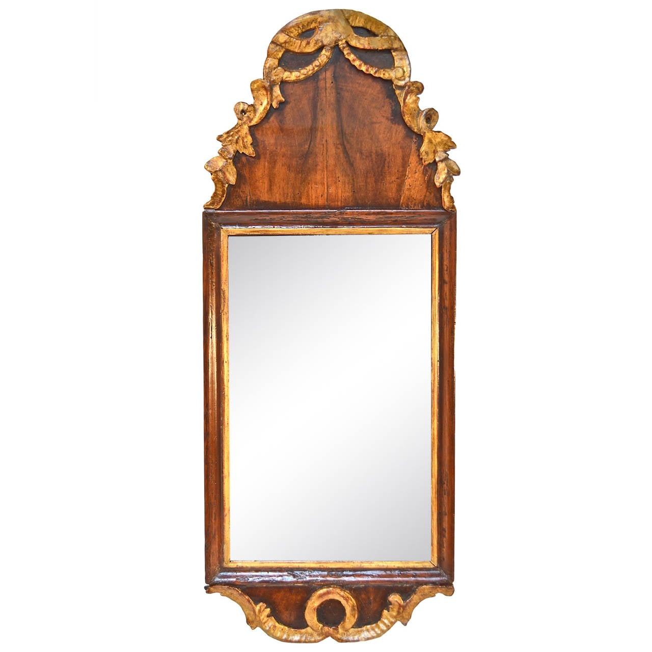 Petite Georgian Looking Glass For Sale at 1stdibs