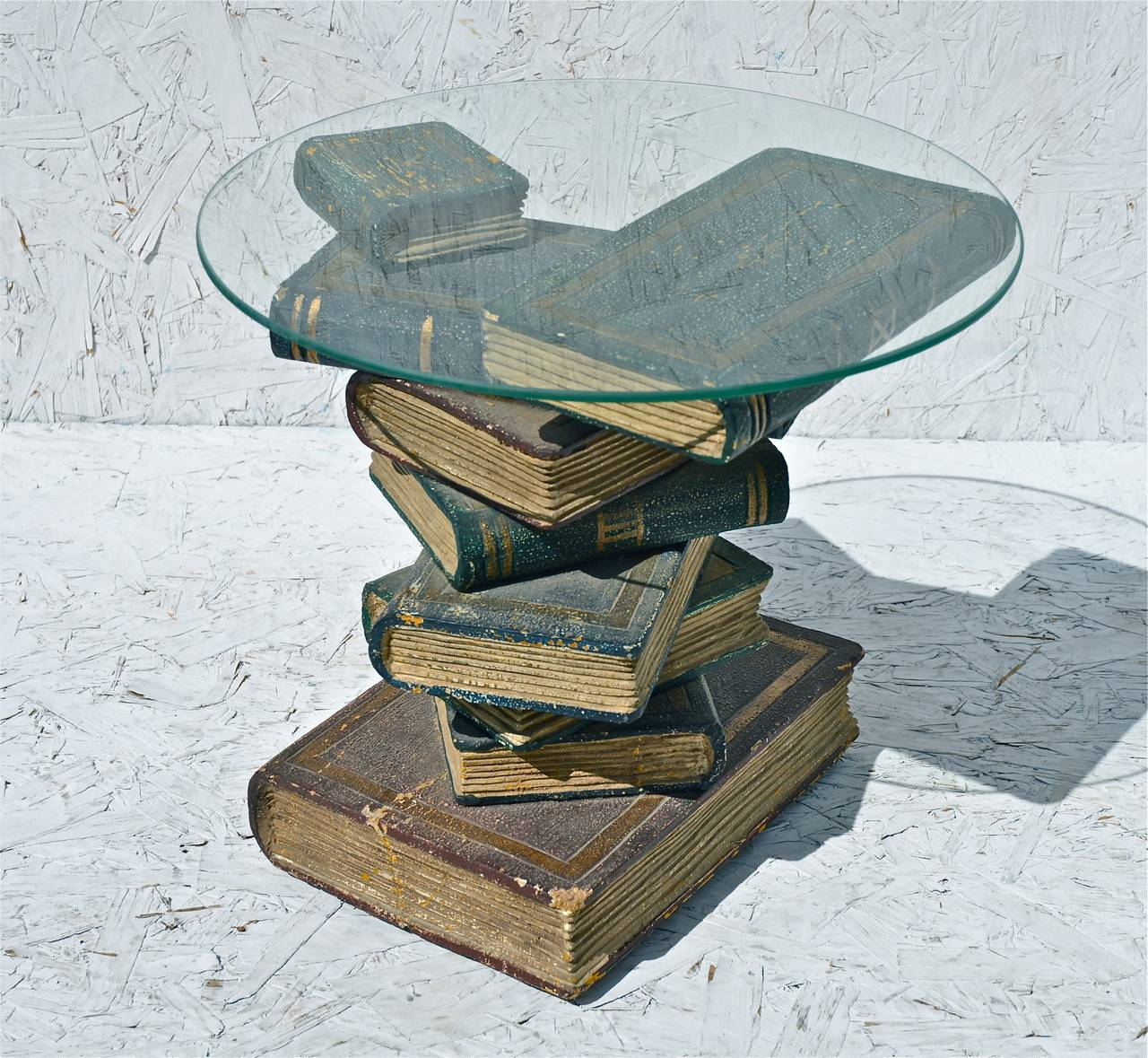 Faux Book Stack Cocktail Table For Sale At 1stdibs