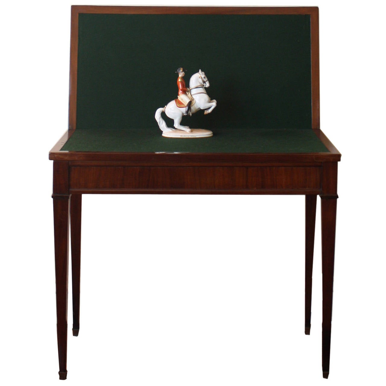 Neoclassical folding console table at 1stdibs for Table console retractable