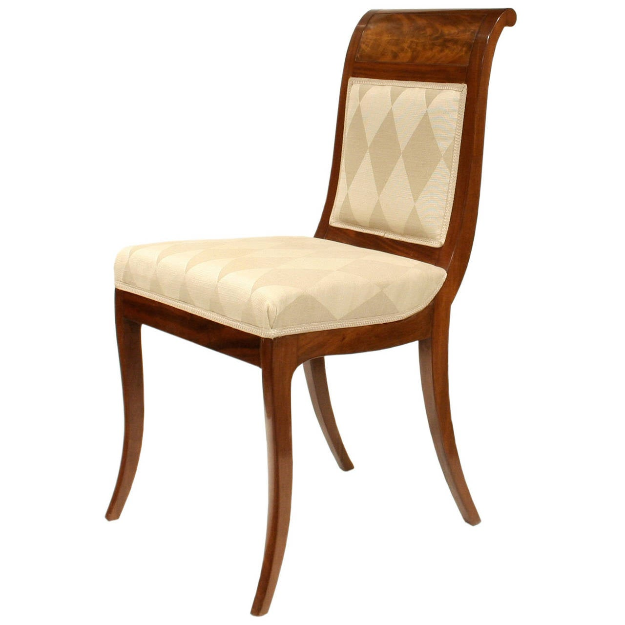 hamburg biedermeier side chair at 1stdibs. Black Bedroom Furniture Sets. Home Design Ideas
