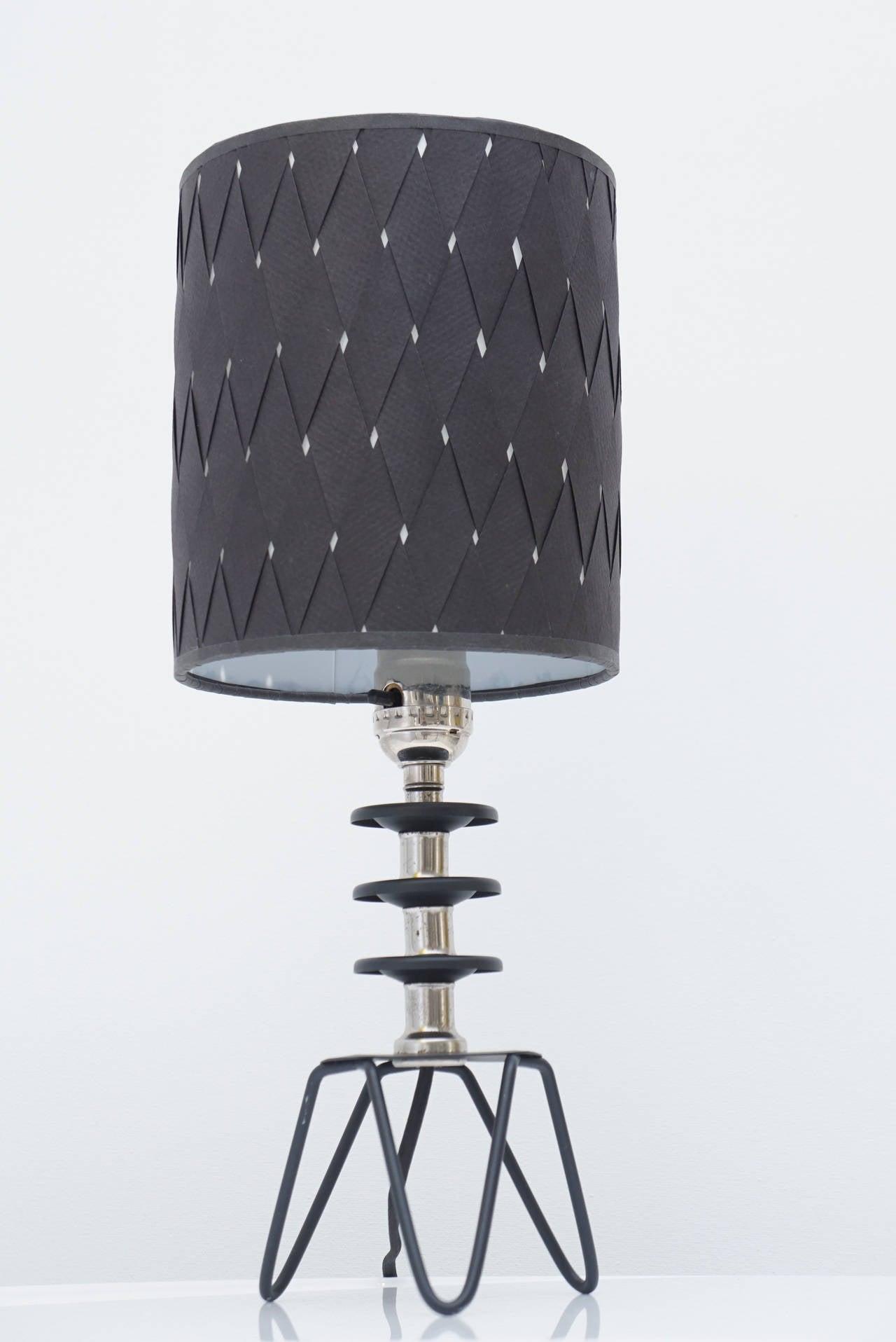 vintage miniature deco table lamp for sale at 1stdibs. Black Bedroom Furniture Sets. Home Design Ideas