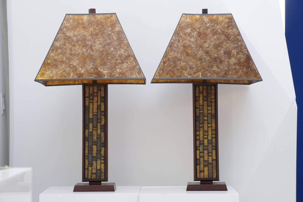 Pair of Mid Century Table Lamps 2