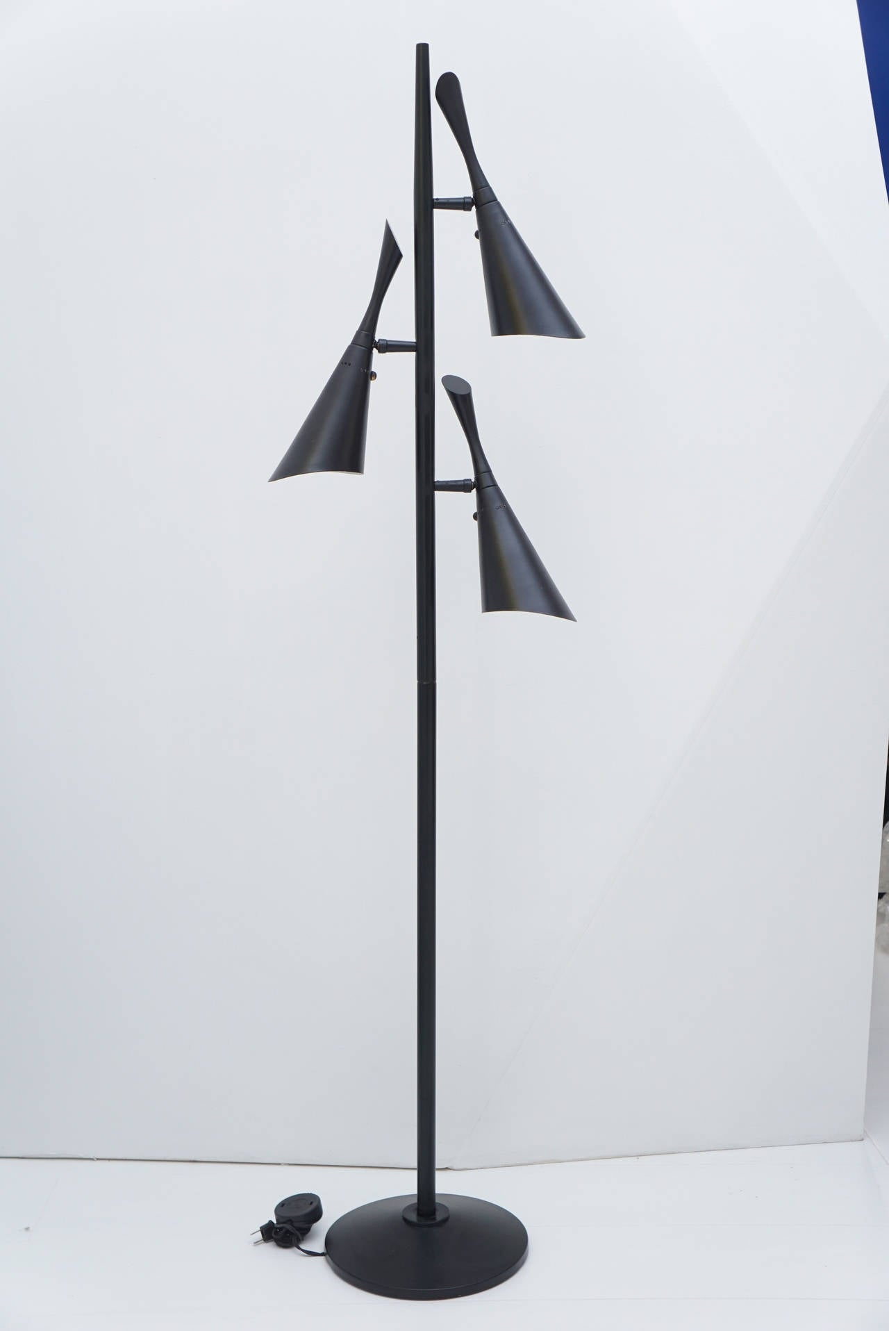 1950s modern adjustable floor lamp for sale at 1stdibs for 1950s floor lamps