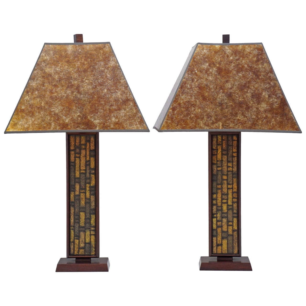Pair of Mid Century Table Lamps 1