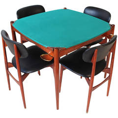 Poker Table by Gio Ponti for the Fratelli Reguitti