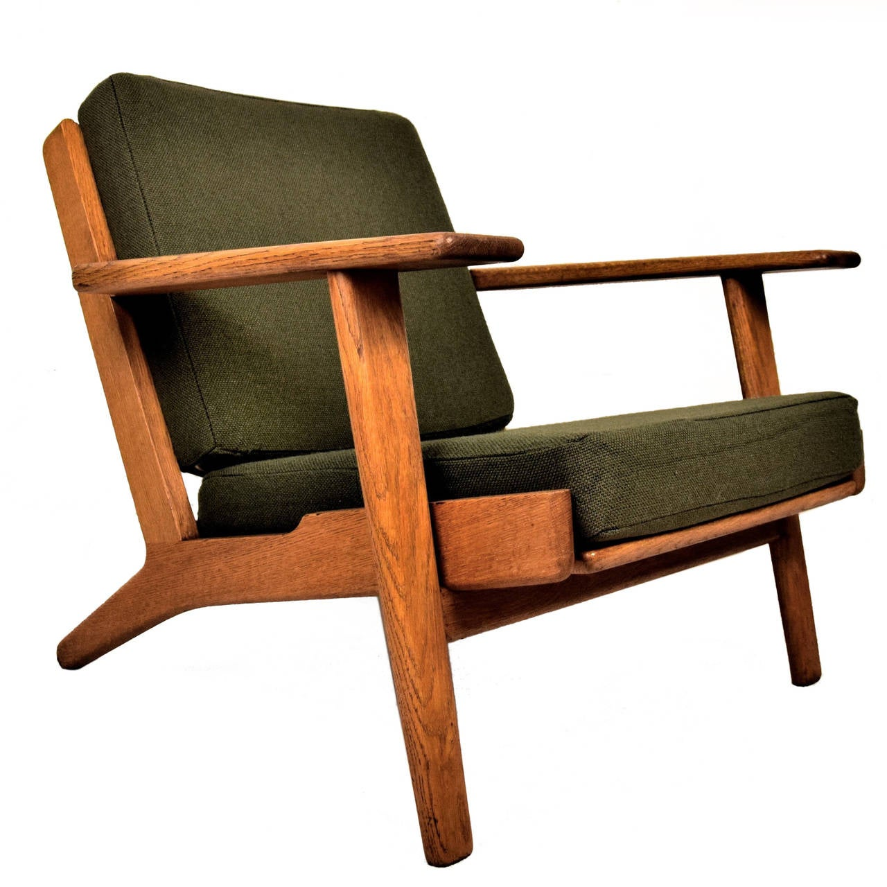 GE290 Low Back Lounge Chair by Hans J Wegner For Sale at