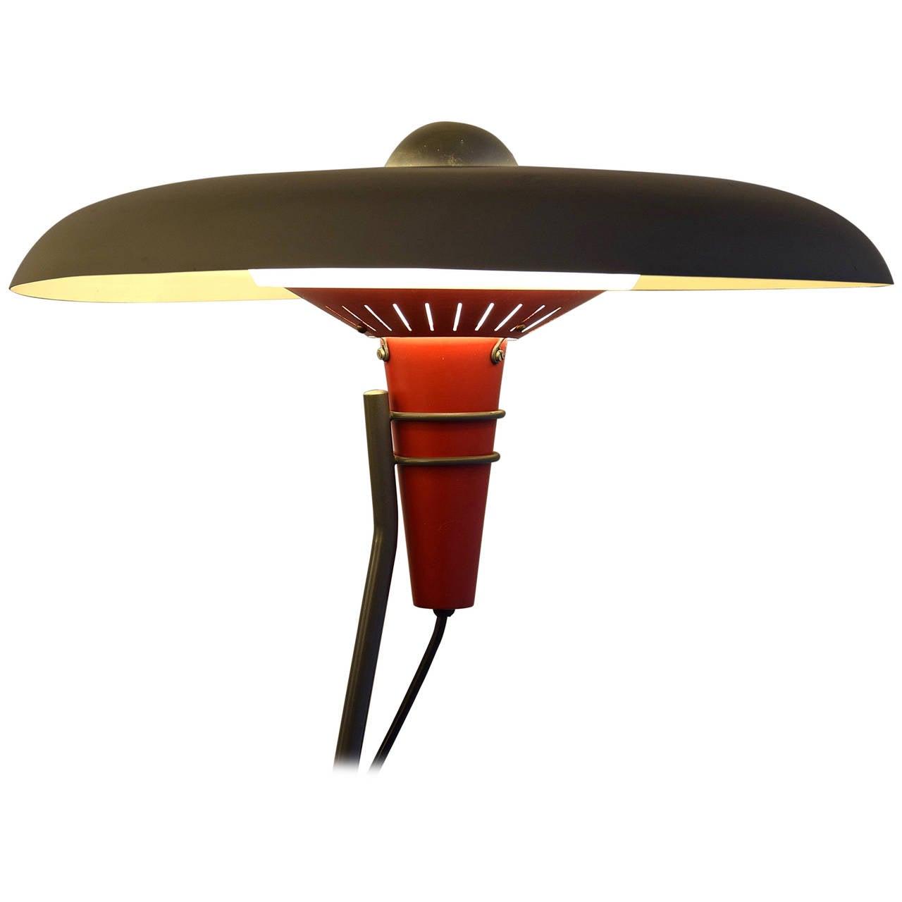 Philips NX 38 Floor Lamp Designed by Louis Kalff in 1957