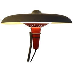 Mid Century Modern Philips Floor Lamp by Louis Kalff