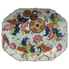 Chinese Export Platter, circa 1770