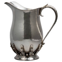 Sterling Silver Water Pitcher, circa 1920