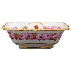 English Porcelain Bowl, Flight Barr and Barr, circa 1820
