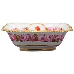 English Porcelain Bowl, Flight Barr and Barr, circa 1820