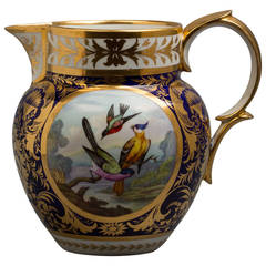 English Derby Porcelain Jug, circa 1820