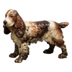 Vienna Bronze Dog, circa 1890