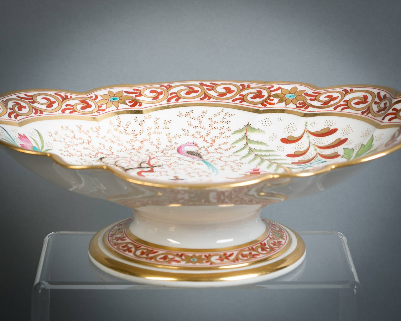 English Flight Barr and Barr Porcelain Dessert Service, circa 1815 For Sale 1