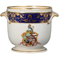 English Porcelain Ice Pail, Derby, circa 1820