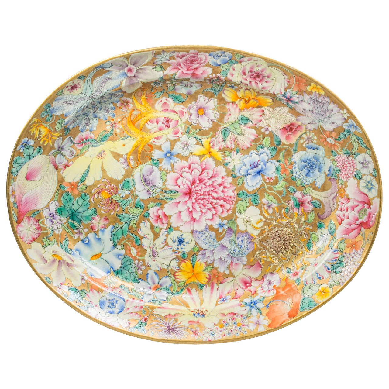 Chinese Export Platter, circa 1820 For Sale