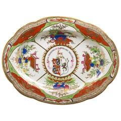 Chamberlain Worcester Bengal Tiger Platter, circa 1820