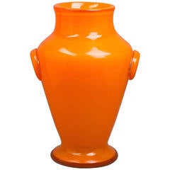 Large Schneider Vase, French, circa 1910