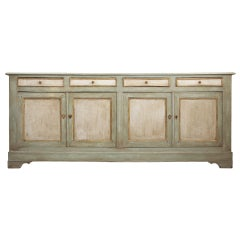 French 19th Century Solid Oak Buffet