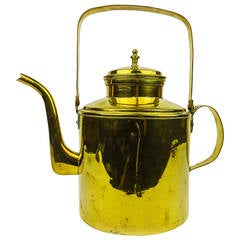 Dutch Tea Kettle with Swing Handle, circa 1800