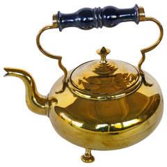 English Brass Toddy Kettle, circa 1850