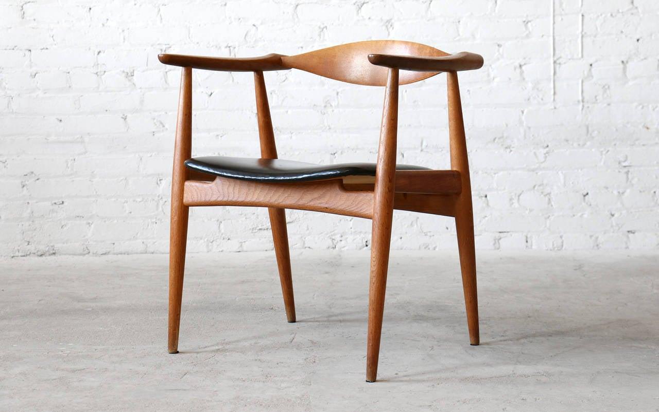 mid century ch 30 chairs by hans wegner for carl hansen u002