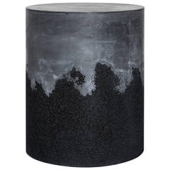 Black Cement and Black Silica Drum by Fernando Mastrangelo