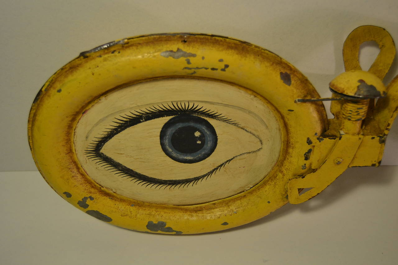 Rare Antique Optometrist Trade Sign 4