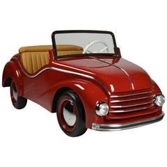 DKW Auto Union Wooden Carousel Ride Convertible Car