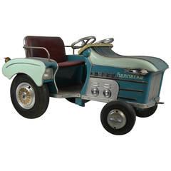 1950s Wilhelm Hennecke Auto Carousel Farm Tractor