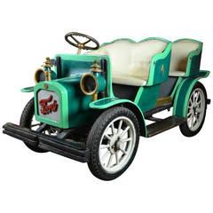 Vintage Amusement Park Gebr Ihle Oldtimer Ford T Car