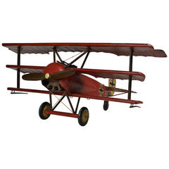 Red Baron German Fokker Triplane